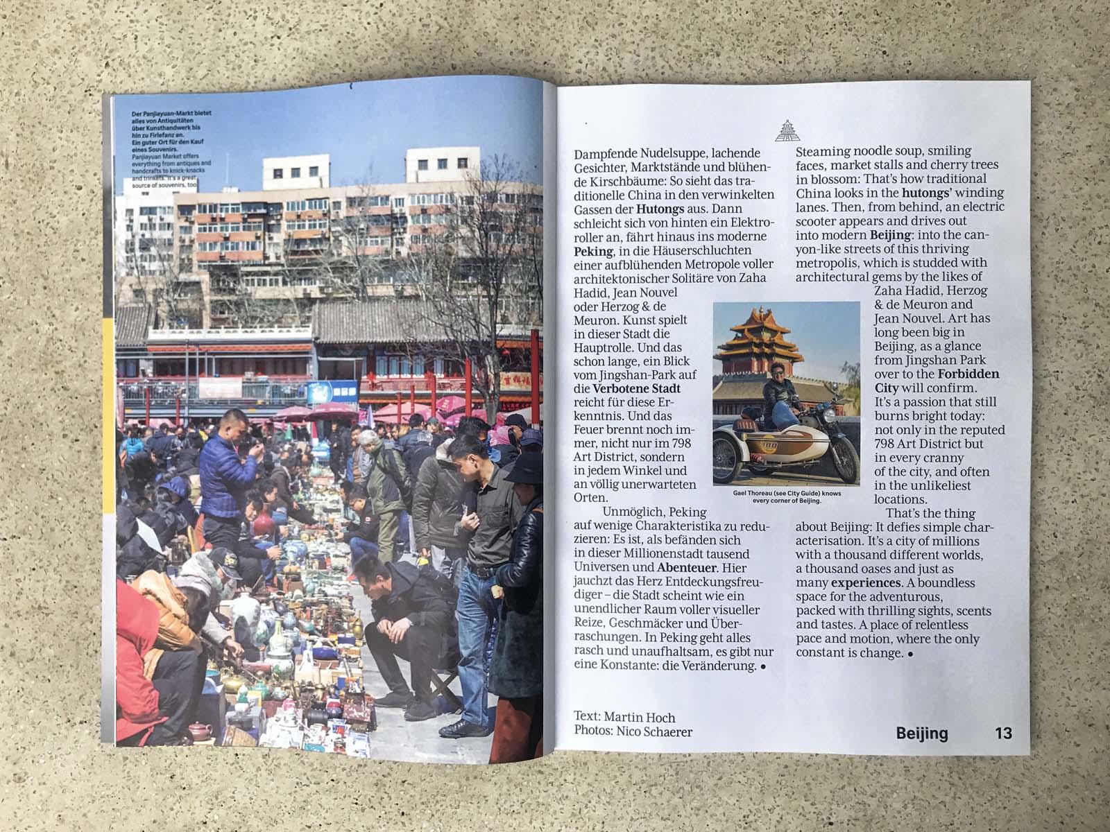 Swiss Magazine Peking 08 | nuvu
