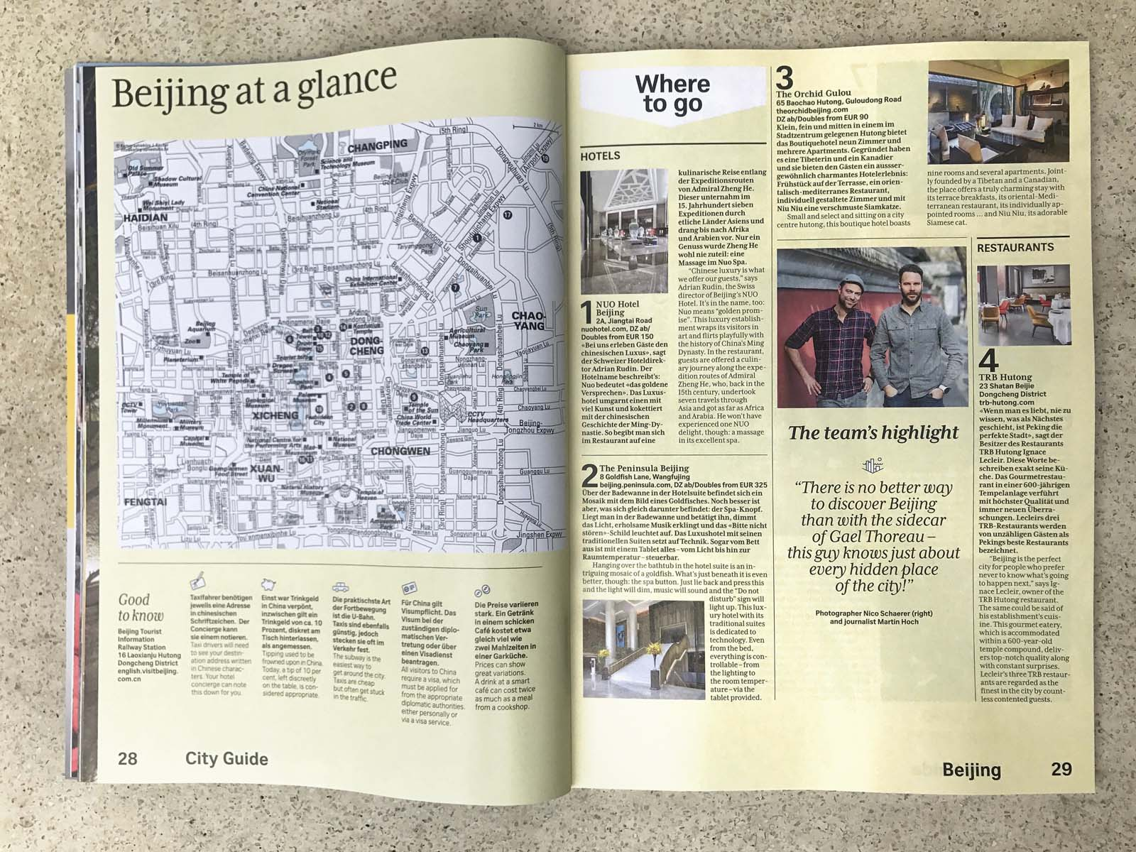 Swiss Magazine Peking 11 | nuvu