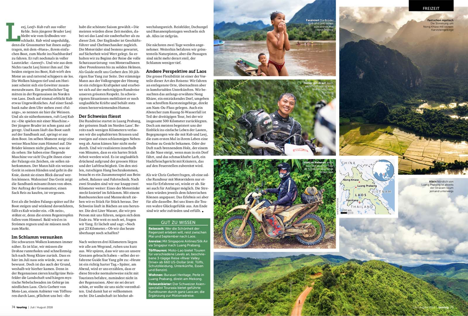 Laos mit dem Motorrad | nuvu