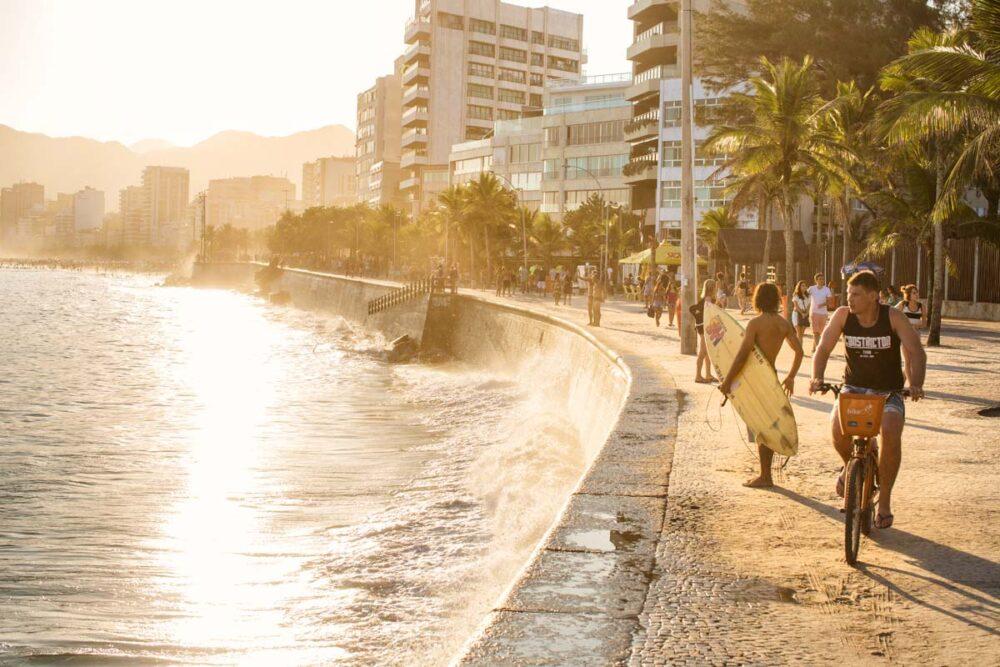 Sunset @Ipanema Beach